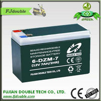 Good Quality Electric Moped Battery 12V 7Ah