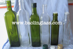 300ml soy sauce oil and vinegar glass cruet bottle Chinese wholesale factory supply