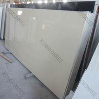 China Red Mirror Glitter Quartz Stone / Flooring Tiles Quartz Stone