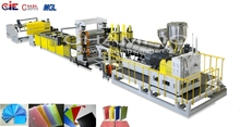 good quality PP STATIONERY SHEET plastic extrusion machine