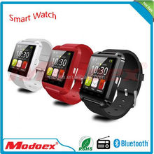Current brand wrist watch luxury watch box phone android 4.4 wifi 3g and 5.0M camera