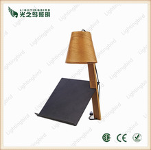 Fashion style tripod wood table lamps 220v for living room and bedroom