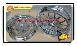 motorcycle chrome rim ,motorcycle aluminium wheel rim,scooter wheel