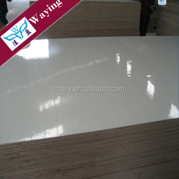 STANDARD 4'X8' SIZE 18MM WHITE MELAMINE PLYWOOD / MELAMINE COATED PLYWOOD / MELAMINE FACED PLYWOOD SHEET