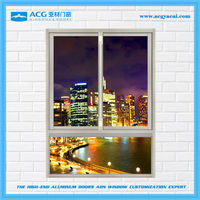 Economic hermetic aluminium sliding windows