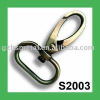 S2003 Heavy Duty Brush Gold Snap Dog Hook Dog Collar Clasp