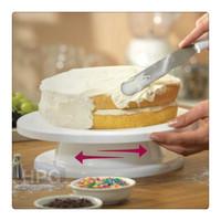 plastic cake icing turntable