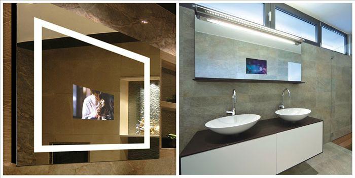 Digitale hd-tv hinter spiegel im badezimmer-Fernsehen-Produkt ID ...