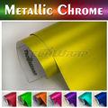 TeckWrap etiqueta engomada del coche de importación Estiramiento 1.52x20M 5x65FT 8 colores cromo mate pegatina abrigo del coche
