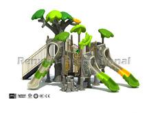 ancient tree theme park children plastic playground kids outdoor playsets