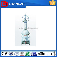 API carbon or stainless steel bevel gear driven gate valve pn4.0 China valve manufacture dn400