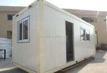 economic low cost good design living 20ft container house