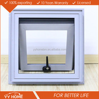 YY Home Double Glazed Aluminium Awning Windows Comply With Australian Standard AS2047