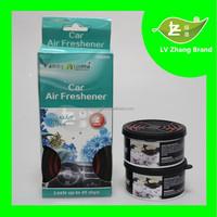New Design Fragrance lasting Car gel air freshener