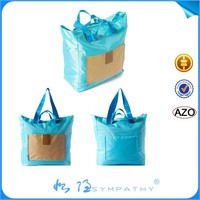 fashion eco-friendly foldable shopping pocket tote bags