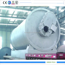 80% Oil Yield Recycling Plastic To Oil Pyrolysis Line