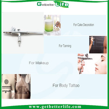 2015 getbetterlife Top Quality CE Certification airbrush for decorating cakes/airbrush gun/airbrush pen