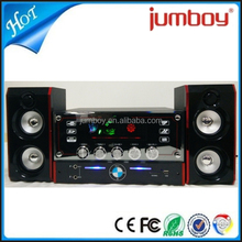 disco light big LED screen 2.1 mini subwoofer USB SD FM