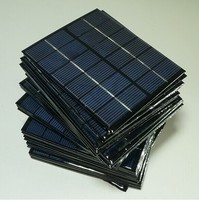 Polycrystalline 3W 9V 195*125*2.5mm low price solar panel mini small solar pv module from China manufacturer