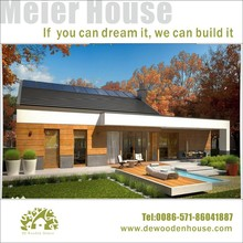 China prefabricated light steel frame house prefab villa