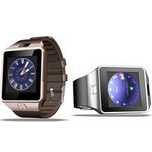 1.54 inch dz09 sim card smart watch phone 2g single sim mobile phone