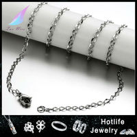 Factory price wholesale China 316l stainless steel chain necklace in roll