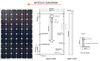 high quality 250W Poly solar panels in stock with high performance Solar Module for power system can connect with inverter