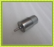 40db low noise high torque battery operated small slow rotating motor 6v
