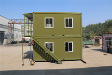 Economical Container Hotel living modular house family modular house two bedroom with bathroom