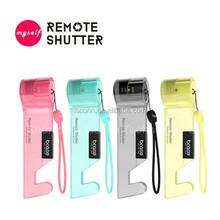 portable mini sized Wireless Bluetooth Selfie Shutter wireless shutter remote for iphoneselfie stick