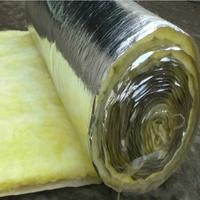 Glass wool foil faced fiberglass duct insulation