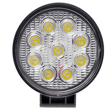 Auto light 27W LED working light for car lighting system