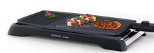 multifunction table -top bbq electric contact grill and griddle