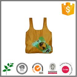 Cheap promotional foldable Nylon shopping bag