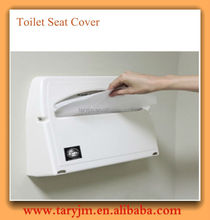 1/2 fold 14gsm packed for travel toilet seat cover paper