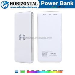 Wanted dealers and distributors Qi wireless charger wireless power bank charger ,dual usb power bank 8000mah China factory