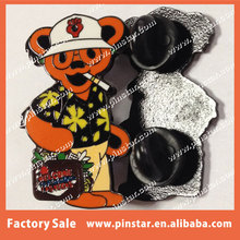 Factory Wholesale Gonzo Heady Grateful Dead Design Your Own Trading Lapel Pin Online