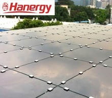 Hanergy flat roof 10kw home solar system
