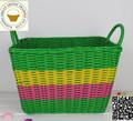2015 hot legumbre de fruta de plástico cesta / cesta de plástico / hechos a mano de la