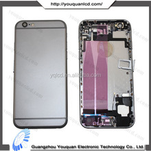 Factory price for iphone 6 housing black,for iphone 6 black housing