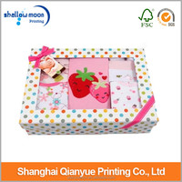 China custom wholesale baby shoe box packaging.