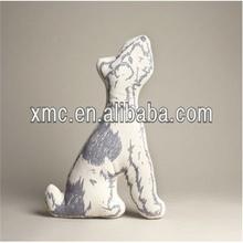 China animal tube cushion / plush animal shaped cushion