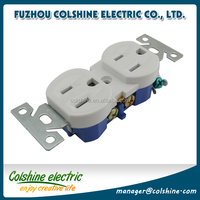 Self Grounding and Residential duplex receptacles U03-1