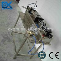 Guangzhou CX semi-automatic piston horizontal sunflower oil bottle filler factory