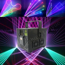 2w high power laser show stage lighting rgb full color animation laser light