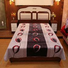 Good quality popular satin adults blanket
