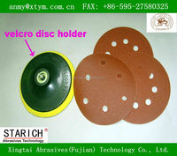 velcro sanding disc with holes for wood, vehicles, metal and paint removal