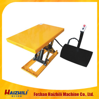 China cheap portable electric platform truck with safe and reliable operation
