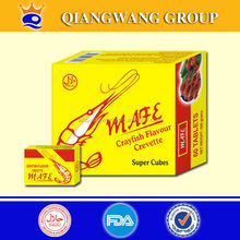 10g/piece, 60pieces/box, 12boxes/carton, onion beef fish ,shrimp cube seasoning cube cooking