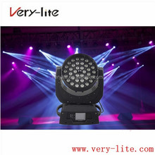 Cheap price stage backdrop decorations 36*10w led zoom moving head lighting led